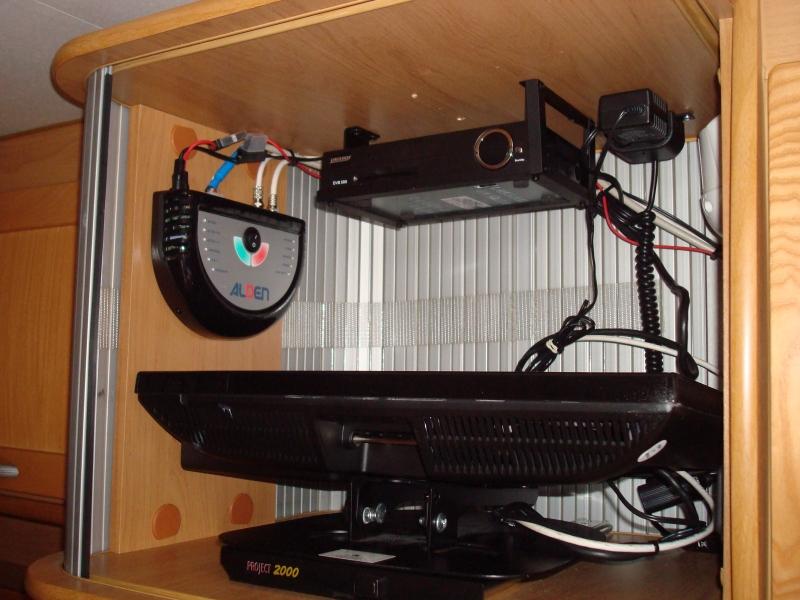 cenralina antenna decoder porta tv scorrevole